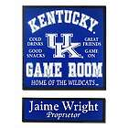 Kentucky Game Room Sports Sign