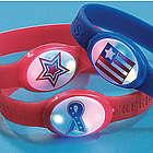 Patriotic Flashing Bracelets