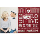 Personalized Couple Canvas Print