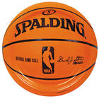 Spalding Basketball Dinner Plates