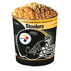 Pittsburgh Steelers 3 Way Popcorn Tin