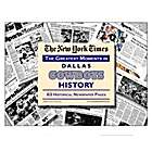 Dallas Cowboys History Newspaper - Complete Coverage