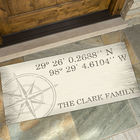 Personalized Latitude & Longitude Doormat