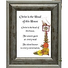 Christ Head of House Framed Print