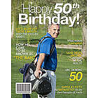 50th Birthday Personalized Magazine Cover