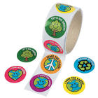 Teacher's Roll of Save the Earth Roll Stickers