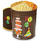 Happy Birthday 2U Popcorn Tin