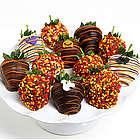 Belgian Chocolate Halloween Strawberries