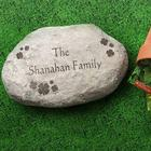Irish Shamrocks Personalized Garden Stone