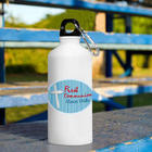 Personalized First Communion Water Bottle in Blue