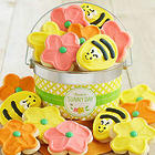 Sunny Day Frosted Buttercream Cookies Gift Pail