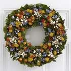 "18"" Garden Party Preserved Flowers Wreath"