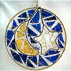 Moon and Star Suncatcher