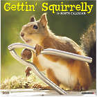 Getting Squirrely Wall Calendar
