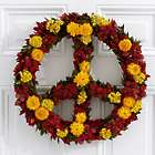 """16"""" Give Peace Preserved Flowers Wreath"""