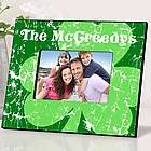 Jolly Green Clover Personalized Irish Picture Frame