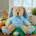 Personalized Stuffed First Easter Bunny