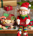 Elf Doll and Cookies Gift Set