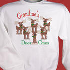 Deer Ones Personalized Sweatshirt