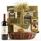 Golden Gourmet Cabernet Sauvignon Gift Basket