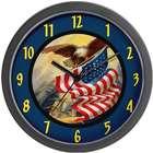 Patriotic American Wall Clock