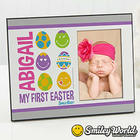 Personalized Baby's First Easter Picture Frame