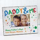 Daddy & Me Personalized Picture Frame