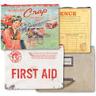 Zipper Pouches - Random Crap, First Aid, Evidence, File Cabinet