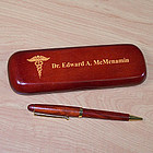 Medical Rosewood Pen Set