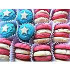 Red, White and Blue Sugar Cookie Crisp Gift Box