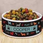 Personalized All Breeds Pet Bowl