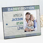 Family Addition for Him Personalized Picture Frame