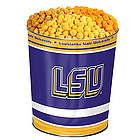 Louisiana State University 3-Flavor Popcorn Gift Tin