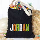 Personalized Name Trick or Treat Bag