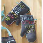 Inspiring Oven Mitts