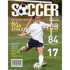 Soccer Personalized Magazine Cover