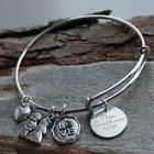 Wedding Personalized Bangle Bracelet