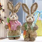 Wicker Bunnies Girl Bunny