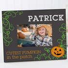 Personalized Cutest Pumpkin Picture Frame