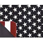 Stars and Stripes Throw Blanket