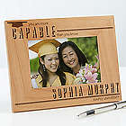 You are More Capable Personalized Graduation Picture Frame