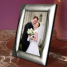 Personalized Monarch Silver Plated Picture Frame