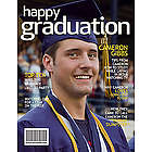 Personalized Graduation Digital Magazine Cover