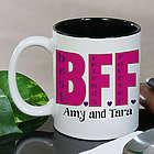 Personalized BFF Coffee Mug