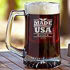USA Made Personalized Beer Mug