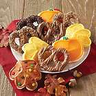 16 Fall Cookie and Pretzel Gift Box