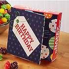 Happy Birthday Popcorn Gift Box