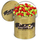 Holly Jolly Christmas Popcorn Tin