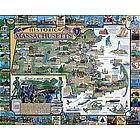 Historic Massachusetts Jigsaw Puzzle