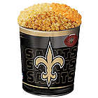 New Orleans Saints 3 Way Popcorn Tin
